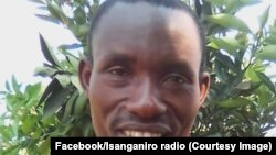 Le journaliste Jean-Bosco Nshimirimana, correspondant local de la radio privée Isanganiro, Burundi, 7 février 2018. (Facebook/radio Isanganiro)