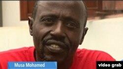 Musa Muhammed. (Foto:videograb)