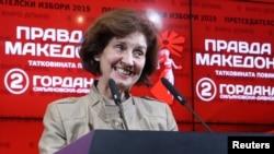 Гордана Сильяновска-Давкова (архивное фото)