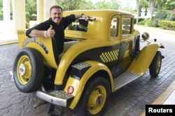 Ron Magill, a prominent Cuban-American who works as spokesman for the Miami zoo, is pictured in Cuba in this undated handout photo obtained by Reuters May 1, 2015.