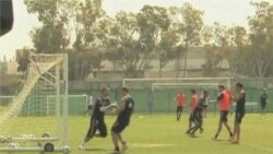 Americans Support Darfur Refugee Soccer Team