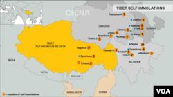 Tibetan self-Immolations through November 15, 2012.