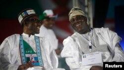 Atiku Abubakar da Shugaba Muhammadu Buhari