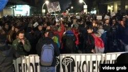 Protest u Podgorici na kojem građani traže ostavke državnog vrha