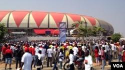 Festa de homenagem a José Eduardo dos Santos, no Estádio 11 de Novembro, em Luanda
