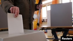 德國選民投票一刻