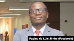 Luís Jimbo, director executivo do Instituto Angolano de Sistemas Eleitorais e Democracia