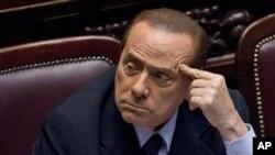 意大利總理貝盧斯科尼承諾在經改計劃通過後辭職。(資料圖片)