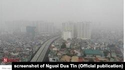 Hà Nội chứng kiến chỉ số chất lượng không khí ở mức tồi nhất thế giới hôm 26/8/2019