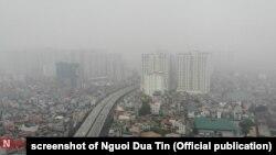 Kualitas udara di Hanoi, Vietnam adalah salah satu yang terburuk di dunia.