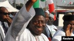 尼日利亞總統喬納森(資料圖片)