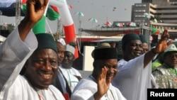 Shugaban Najeriya Goodluck Jonathan, 11 ga Disamba 2014.