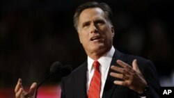 Capres Partai Republik, Mitt Romney menyalahkan reaksi pemerintahan Obama atas serangan terhadap Kedutaan AS di Kairo (foto: dok).
