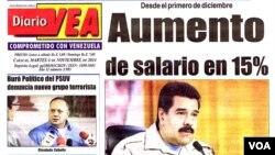 El diario VEA circula desde septiembre de 2003 con una abierta tendencia progobierno.