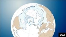 北极地区由于它的石油和天然气蕴藏,变得越来越重要。中国希望对它的开发有发言权