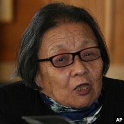 中国著名艾滋病维权人士高耀洁女士