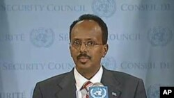 Somalia's Prime Minister Mohammed Abdullahi Mohammed