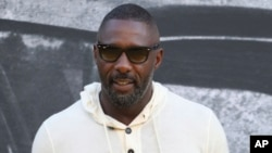 """Idris Elba attends the world premiere of """"Yardie"""" in London, England, Aug. 21, 2018."""