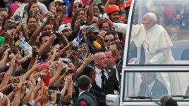 Papa Françesku në Brazil