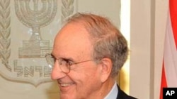 US special envoy to the Middle East George Mitchell