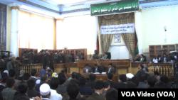 Sidang kasus Farkhunda di Kabul (6/5).