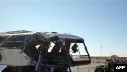 İraqda iki avtobusun toqquşması səbəbi ilə 15 adam həlak olub