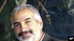 43 year-old New York Times journalist Anthony Shadid is shown in this undated photo released on March 21, 2011. The two-time Pulitzer Prize winner died while reporting in Syria on February 16, 2012.