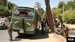 محل حمله انتحاری امروزی در هرات