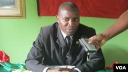 """Secretário provincial da unita no Namibe, Ricardo Ekupa de Noé """"Tuyula"""""""