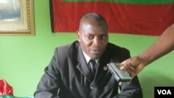 """Secretário provincial da UNITA no Namibe Ricardo Ekupa de Noé """"Tuyula"""""""
