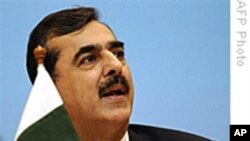 Pakistani Prime Minister Yousuf Raza Gilani (file photo)