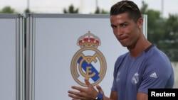 Christiano Ronaldo, bintang klub Real Madrid (foto: dok).