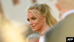 """Britney Spears saat menghadiri penayangan perdana film Sony Pictures """"Once Upon a Time... in Hollywood"""" di TCL Chinese Theatre, Hollywood, California, 22 Juli 2019. (Foto: dok)."""