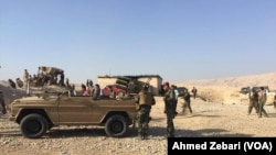 Peshmerga Forces in Fazilya, Mosul
