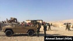 Peshmerga Forces in Fazilya, Mosul