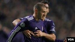 El francés, Karim Benzema, anotó el primer gol del partido pero tuvo además una noche como en los viejos tiempos.