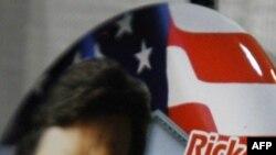 Агитационный значок Рика Перри