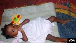 Bebé de 5 meses com HIV