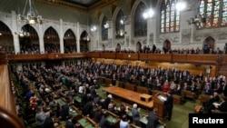 Suasana sidang Parlemen Kanada di Ottawa. (Foto: Dok)