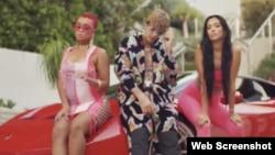 """Screenshot de videoclip de """"Popstar"""" de DJ Khaled, Justin Bieber & Drake"""