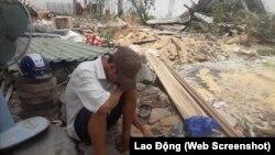 Bình Định: Tự thiêu phản đối cưỡng chế nhà.