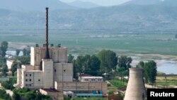 Yonbyon reaktori, 2008-yilda olingan fotosurat, Shimoliy Koreya
