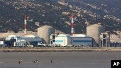 중국 동부에 있는 원자력 발전소 모습 (자료사진)