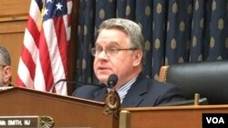 Congressman Chris Smith,itti gaaftamaa koree haajaa alaa mana maree USA