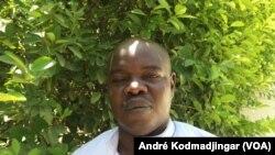 Mahamat Kader Mahamat président de l'association nationale d'aide aux détenus, à N'Djamena, 17 juin 2019. (VOA/André Kodmadjingar)