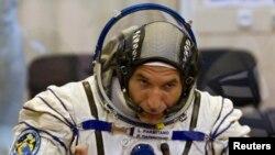 Astronot Italia Luca Parmitano, salah satu angota misi di stasiun antariksa internasional (ISS), melaporkan insiden air di dalam helm yang dikenakannya saat bertugas di luar ISS, Selasa, 16 Juli 2013 (Foto: dok).