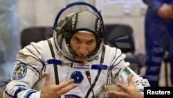 El astronauta italiano Luca Parmitano está completamente recuperado, pero según su compañero se siente abatido por lo sucedido.