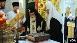საქართველოს და რუსეთის პატრიარქები