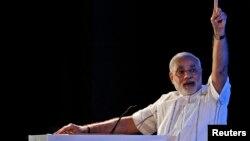 印度新总理莫迪(资料照)