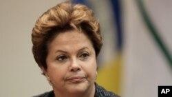 巴西總統羅塞夫(資料圖片)